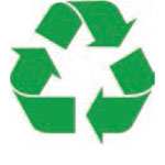 Green Recycle Icon illustration